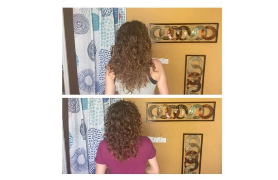 Cutting Long Curly Hair At Home Ty The Hunter Ty The Hunter