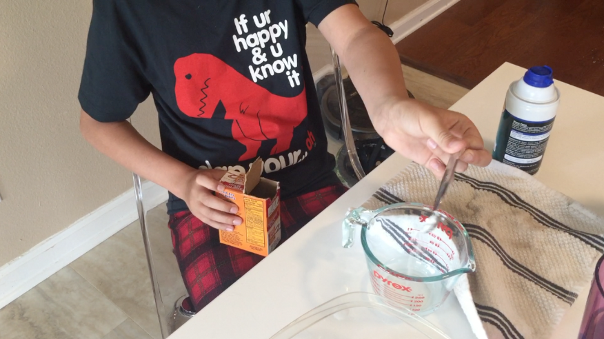 How To Make Fluffy Slime Without Borax | Ty The Hunter - Ty